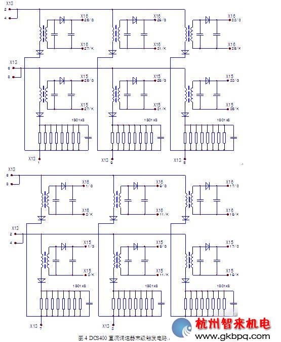 abb直调速器电源/励磁板的故障检修,dcs400直流调速器维修