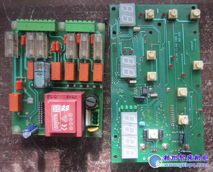 工业集成电路板维修,大型超市价值好几万元的醒发箱控制板维修